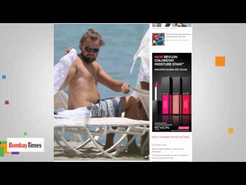 Leonardo DiCaprio Soaks Up The Sun In Miami - TOI