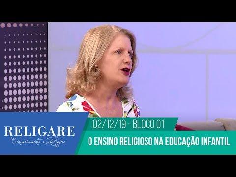 Entrevista – Programa Religare – O ensino religioso na educação infantil – Bloco 01