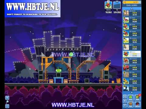 Angry Birds Friends Tournament Week 70 Level 6 high score 128k (tournament 6) Rock in Rio