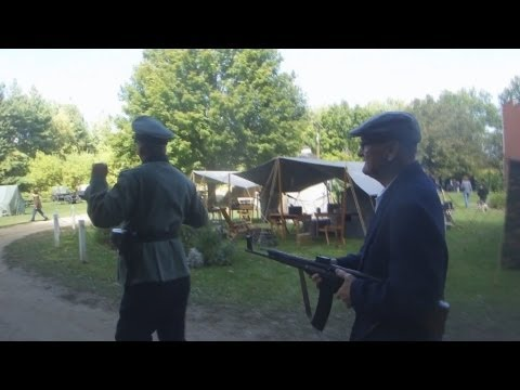 2012 WWII Days - Rockford, IL - Partisan With Captured German Officer