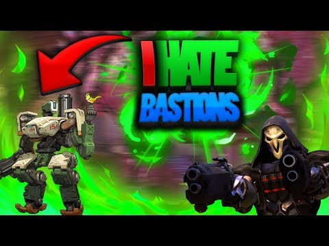 I hate Bastions!!!!!:Overwatch gameplay