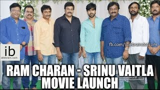 Ram Charan – Srinu Vaitla Movie Launch
