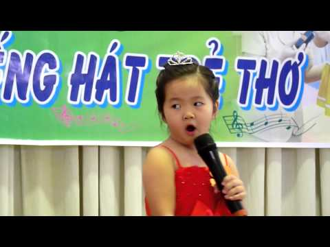 Chung kết Karaoke Chồi 1 bé Nguyễn Bảo Nhi hát Xúc xắc xúc xẻ