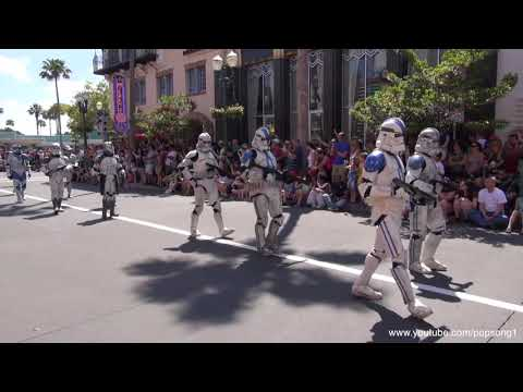 Star Wars Weekends Parade Opening Day Disney's Hollywood Studios Walt Disney World