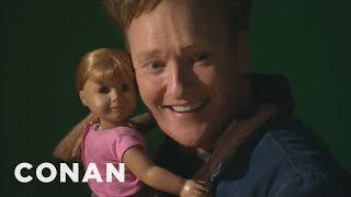 Conan Visits The American Girl Store