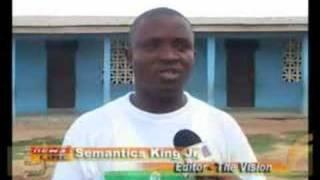 Buduburam Camp Metro TV News, Accra Ghana