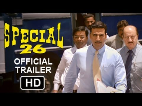 Special Chabbis - OFFICIAL HD Trailer 2013 | Akshay Kumar | Manoj Bajpayee | Anupam Kher