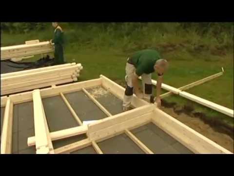 Montage maison bois en kit autoconstruction youtube for Autoconstruction maison bois