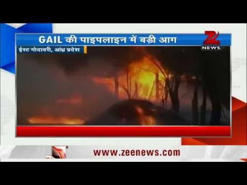 Blast at GAIL pipeline in Andhra Pradesh, at least 14 dead