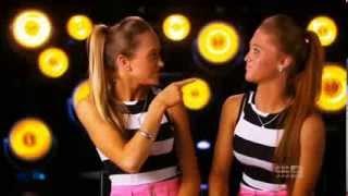 The Rybka Twins Australia's Got Talent 2013 The Semi