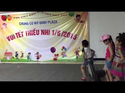 Nhím-Anh Thư biểu diễn thời trang Tết thiếu nhi 1/6/2015