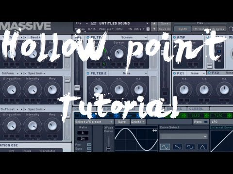 Tommy Trash Style Synth Massive FL Studio - Hollow Point Tutorial