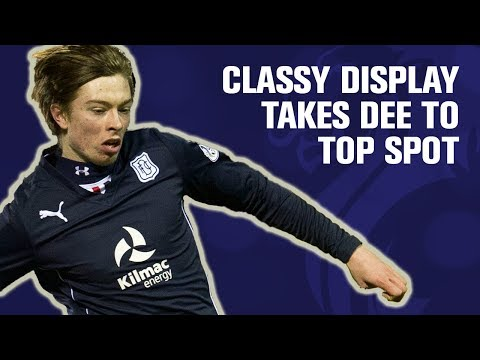 Classy performance moves Dundee into pole position