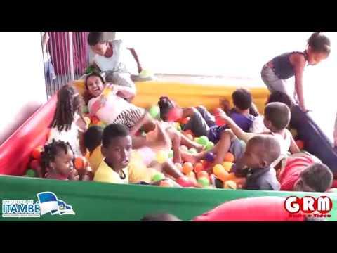 Tarde recreativa com as crianças atendidas no CRAS Sidney Almeida