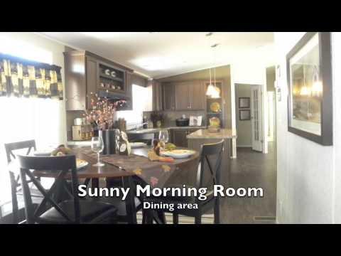 Watch Video of Check out The Appaloosa floor-plan! Beautiful W/ Island kitchen & bar area!