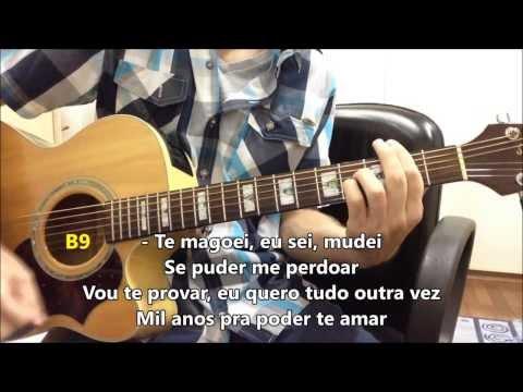 Mil Anos - Loubet part. Laís -- Violão Instrumental (com solos, letra e cifra)