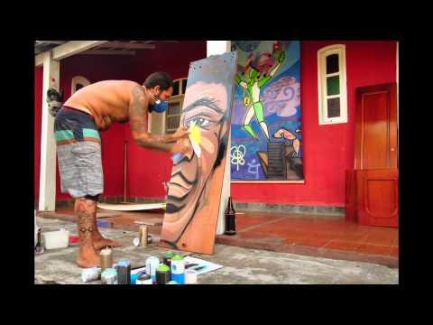 Grafite Atila Rezler - Graffiti - Brasil
