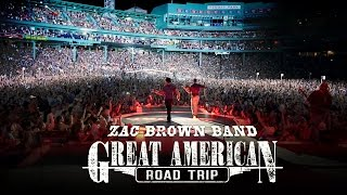 Zac Brown Band Great American Road Trip Boston