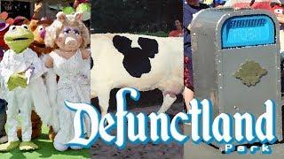 Defunctland: Top 5 Extinct Disney Walk-Around Characters