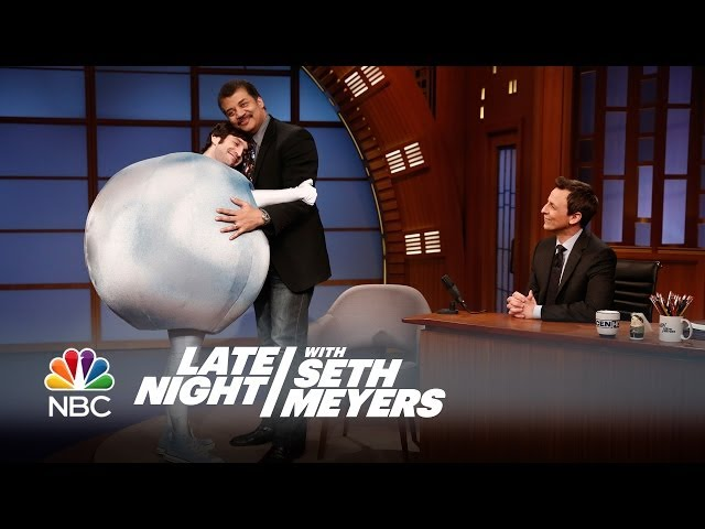 Planet Pluto - Late Night with Seth Meyers