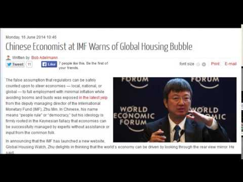 Chinese Economist at IMF Warns of Global Housing Bubble
