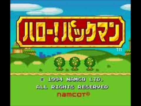 Pac-Man 2: The New Adventures SNES Music: Hello! Pac-Man! (Japanese Opening/Intro)