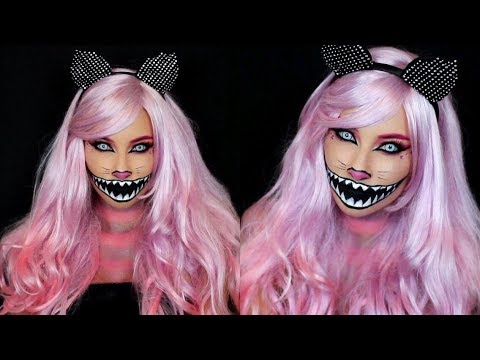 Cheshire Cat Halloween Makeup Tutorial!