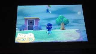 Animal Crossing New Leaf Floating Glitch In Action