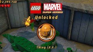 Lego Marvel-Unlock Thing FF