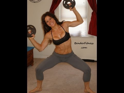 Standing 10 Minute Ab Workout Real Time: Melissa Bender
