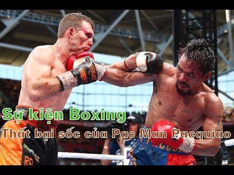 Sốc làng boxing thế giới: Võ sĩ Pacquiao mất đai WBO vào tay thầy giáo tiểu học