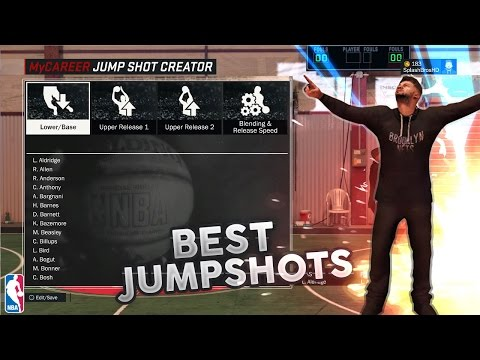 BEST CUSTOM JUMPSHOT ON 2K ! BEST CUSTOM JUMPSHOTS NBA 2K17 !