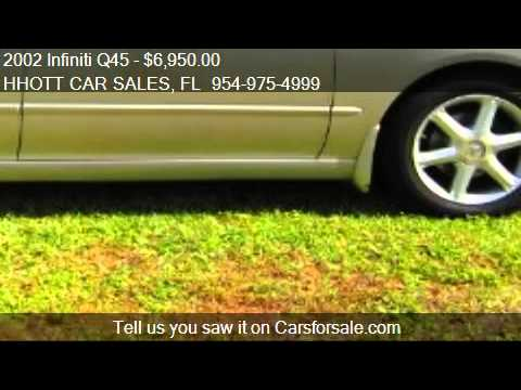 2002 Infiniti Q45 Base for sale in Deerfield Beach, FL 33073