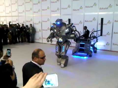 Titan the Robot: Meeting with Azeri people (for Cactus Man)
