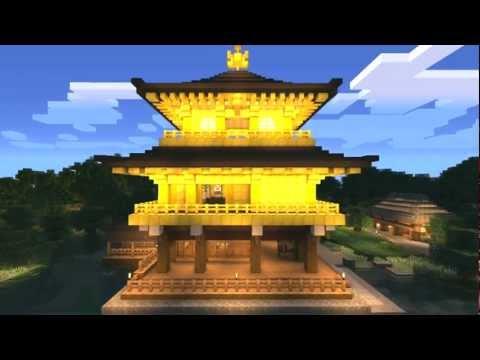 【Minecraft】0から作る金閣寺?結果報告【ニコニコ動画】