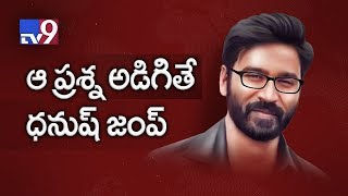 Dhanush fumes over Suchi Leaks question, leaves TV9 Interv..