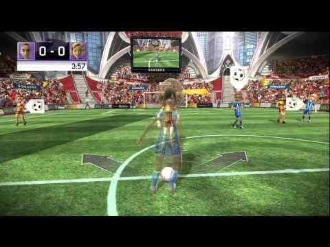 #Kinect - Kinect Sports: Soccer Gameplay HD