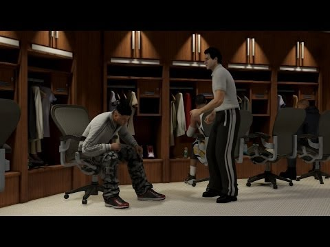 NBA 2K14 PS4 MyCareer - I'm Injured x Feeding Paul George