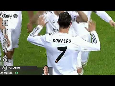 GOL Cristiano RONALDO (2-0) → Real Madrid vs Osasuna 3-0 2014 ~ Real Madrid 3-0 Osasuna ~ 26-04-2014