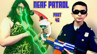 Nerf Patrol Battles Medusa w/ Jason Vorhees - Part 46!
