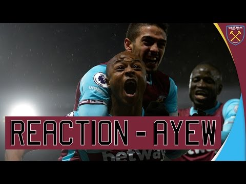 VIDEO: Andre Ayew happy to net equalizer for West Ham against Watford
