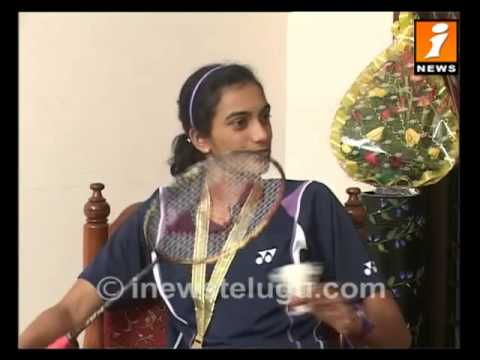 Inews Exclusive Inteview with Badminton Player Sindhu Part - 1