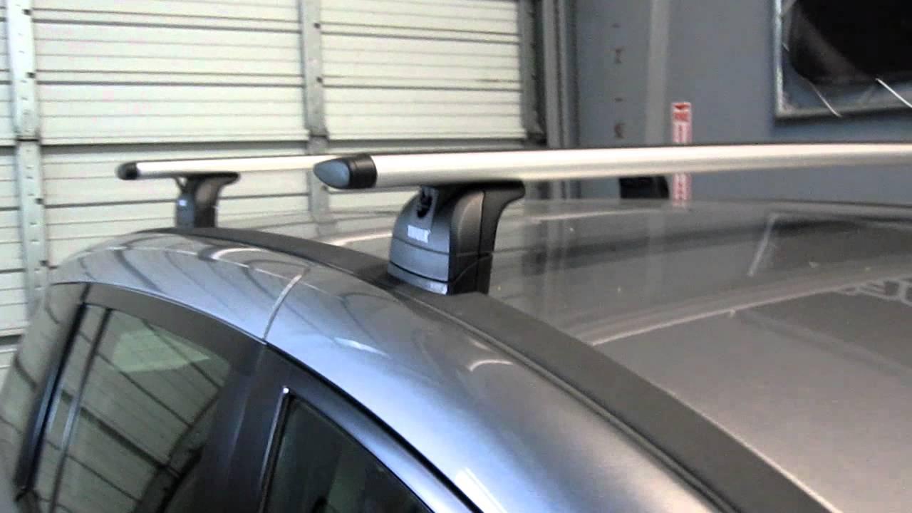Mazda CX-5 Thule Rapid Crossroad SILVER AeroBlade Roof