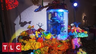 A Sweet 16 Aquarium Cake! | Cake Boss