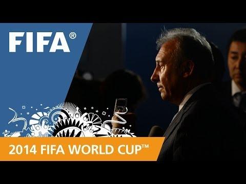 Japan's Alberto ZACCHERONI Final Draw reaction (Italian)