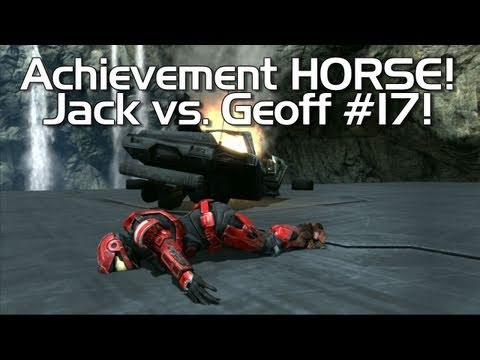 Halo: Reach - Achievement HORSE #17! (Dumb Geoff vs. Smart Jack!)