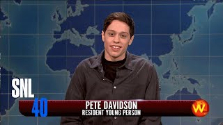 Norman Reedus Shoots Stoned Zombie Pete Davidson: SNL Weekend Update