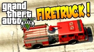 GTA 5 Fire Truck Fire Station & 911 (ALL GTA V FireTruck