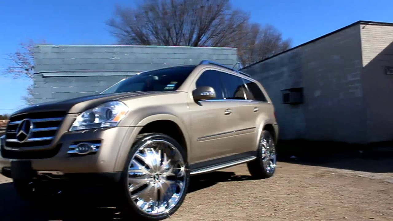 Mercedes Gl 550 Suv On 26 Quot Amani Wheels Big Boys Customs