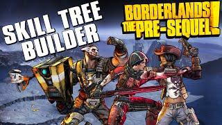 Borderlands The Pre-Sequel Skill Tree Builder + Level Cap